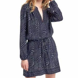 Gap Print long sleeve dress S